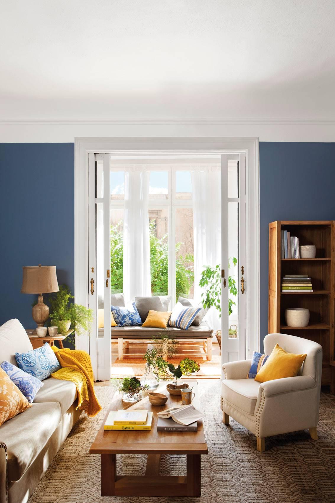 1214 fotos de azul - Combinar colores para salon ...