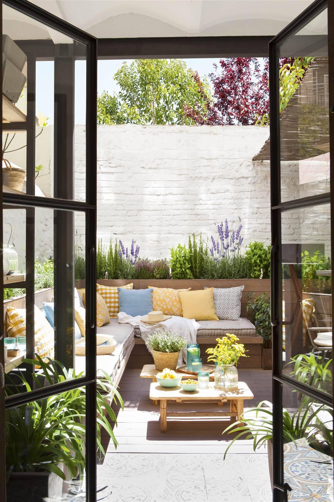128 fotos de patios - Decorar un patio interior ...