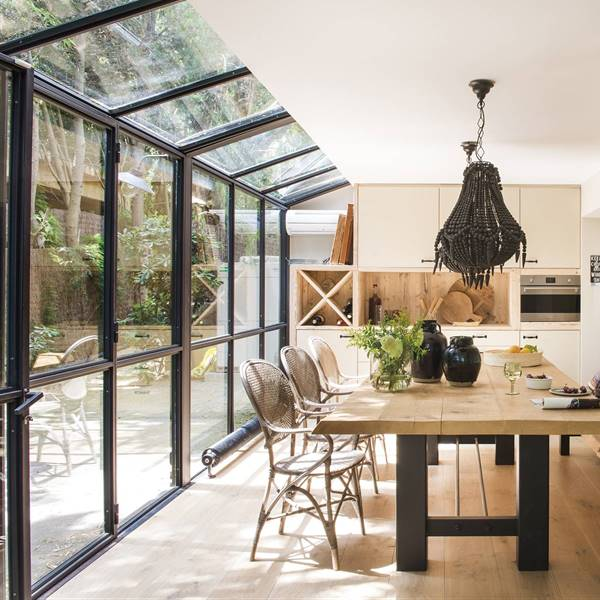 Casas r sticas ideas y trucas para decorarlas elmueble - Casas minimalistas en espana ...