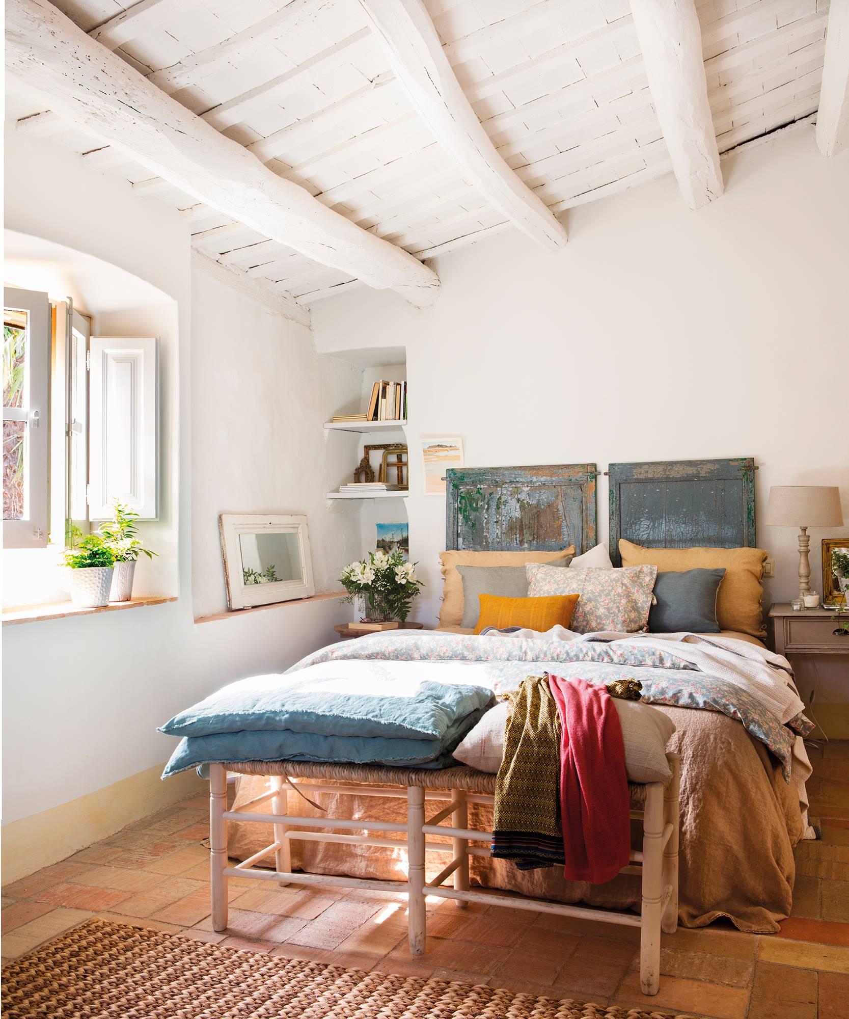 20 trucos baratos e inteligentes para renovar el dormitorio