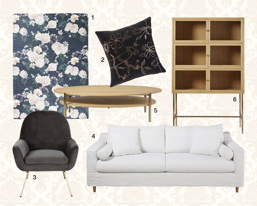 NUEVAS TENDENCIAS DECORACION MAISONS DU MONDE 12. Blossoms se viste con…