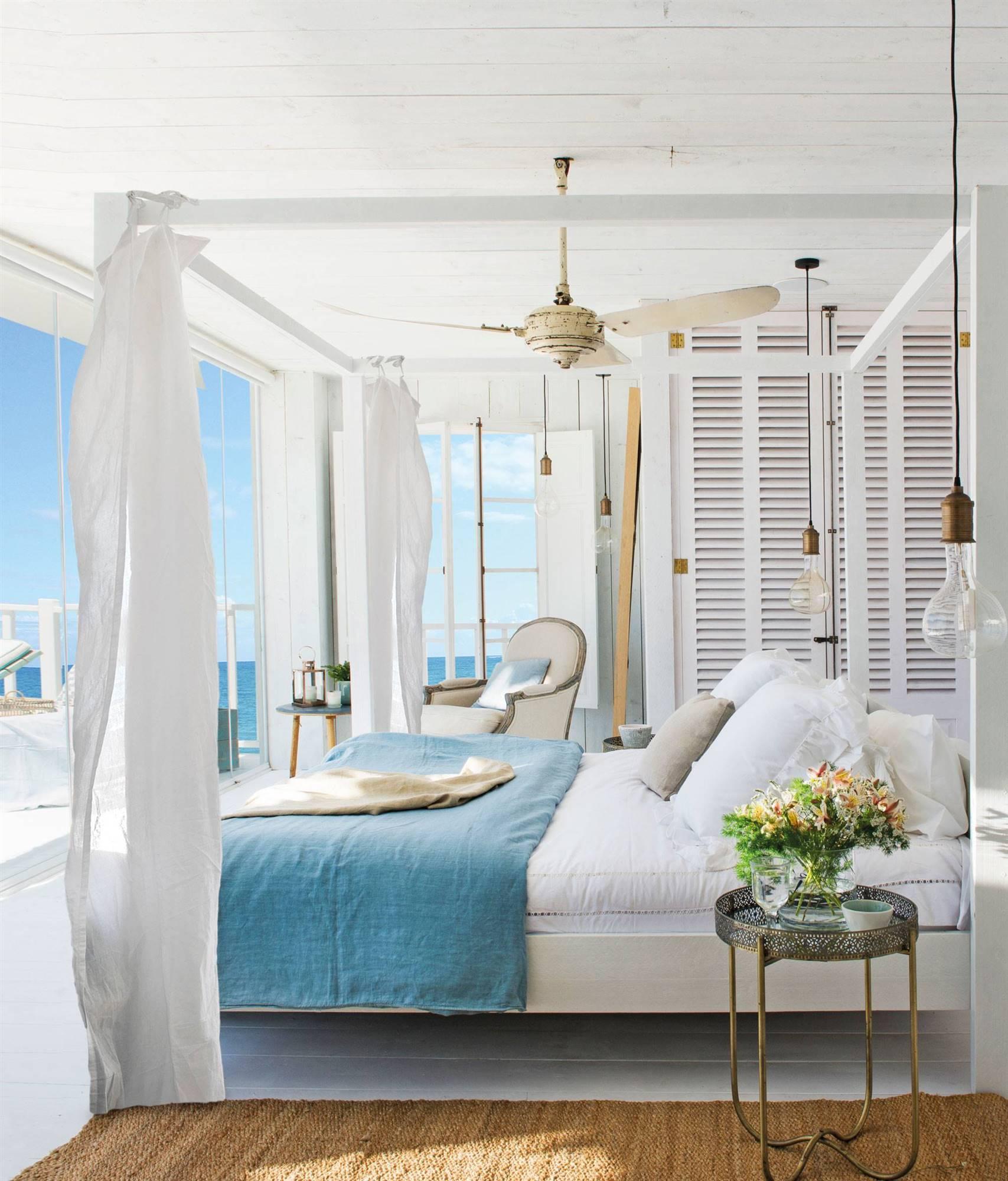 Dormitorios con terraza o balcón: 10 ideas para aprovecharlos mejor