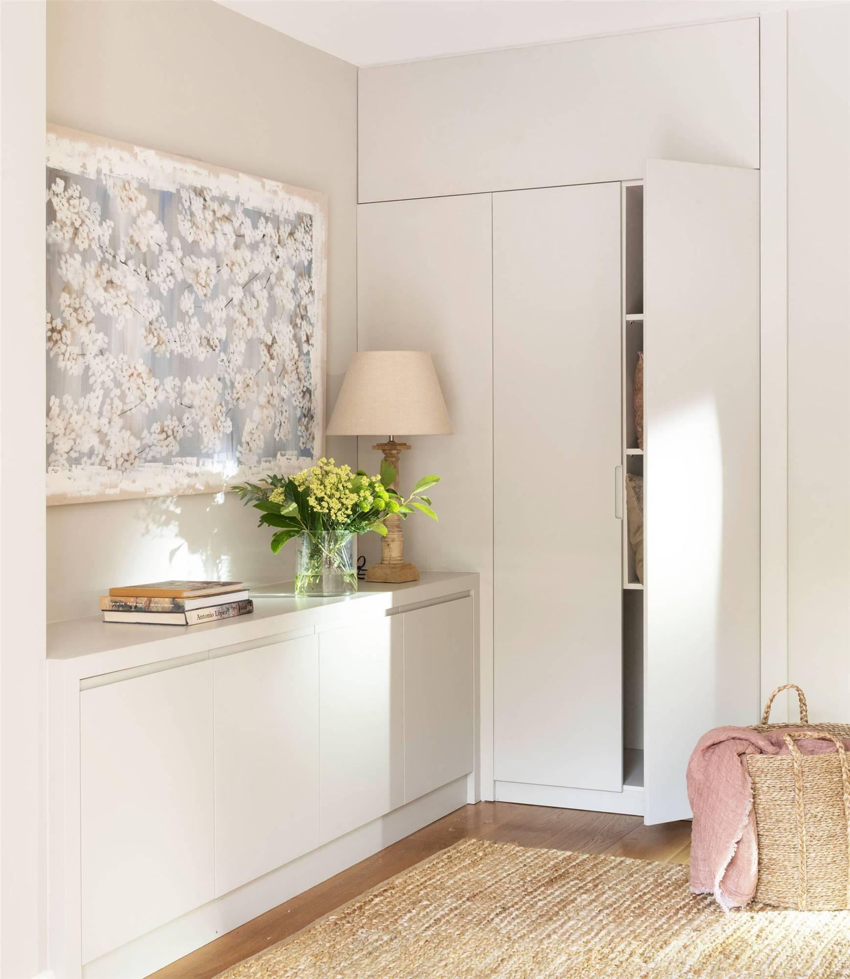 Recibidores modernos muy bien decorados - Muebles de recibidor modernos ...