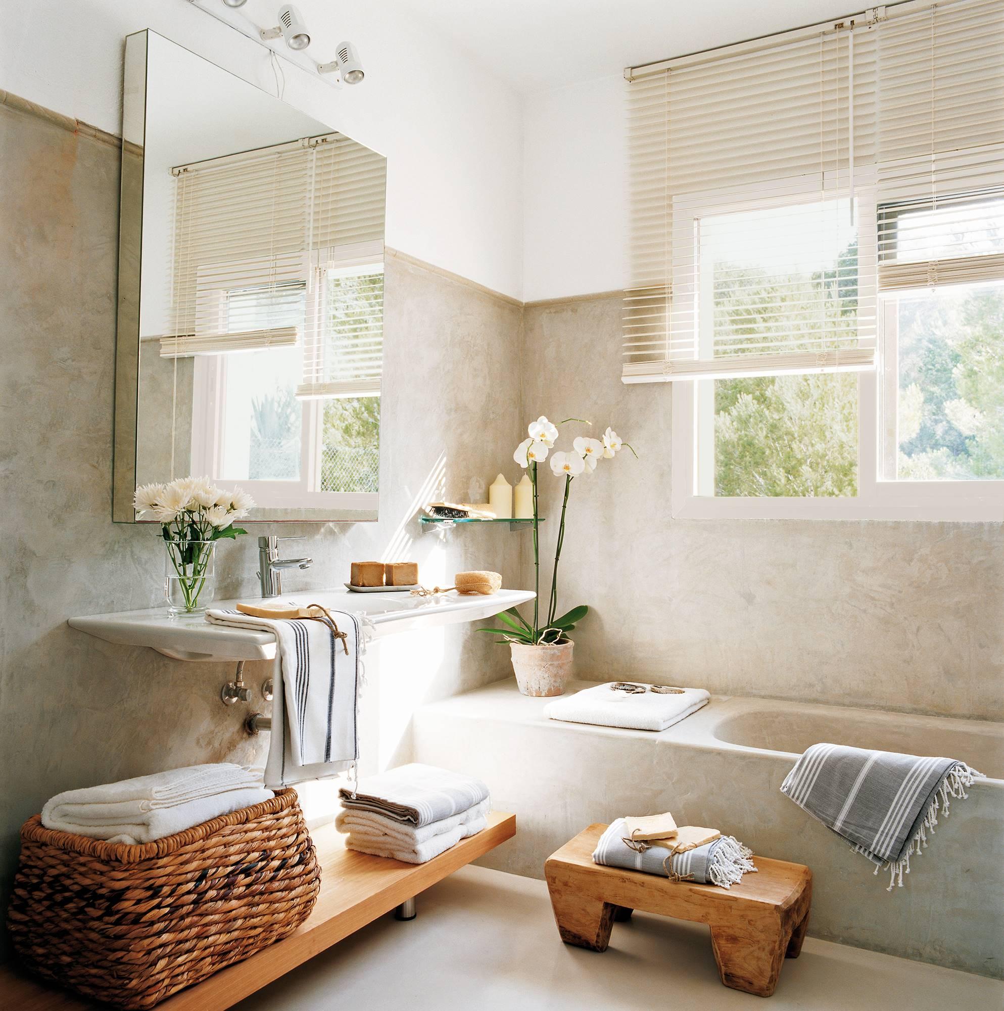 Decora tu baño con plantas