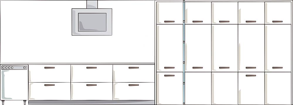 Kitchen-thousand-wardrobe-00497493.  This is the front that joins kitchen and closet