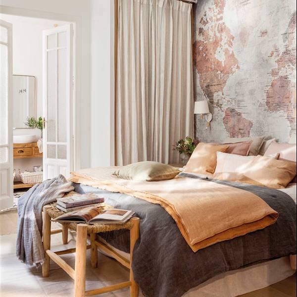 Dormitorios muebles e ideas para decorar tu dormitorio for Ejemplo de dormitorio deco