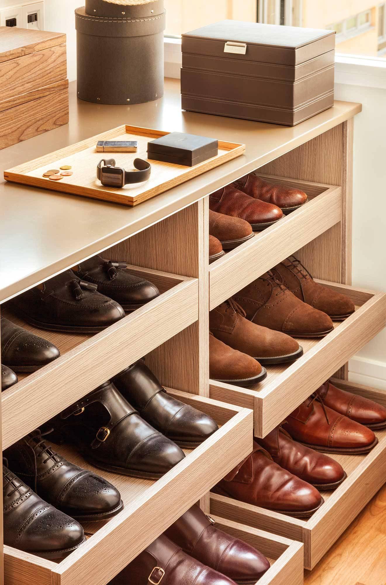 Zapateros y accesorios de orden para guardar tus zapatos - Accesorios para armarios ...