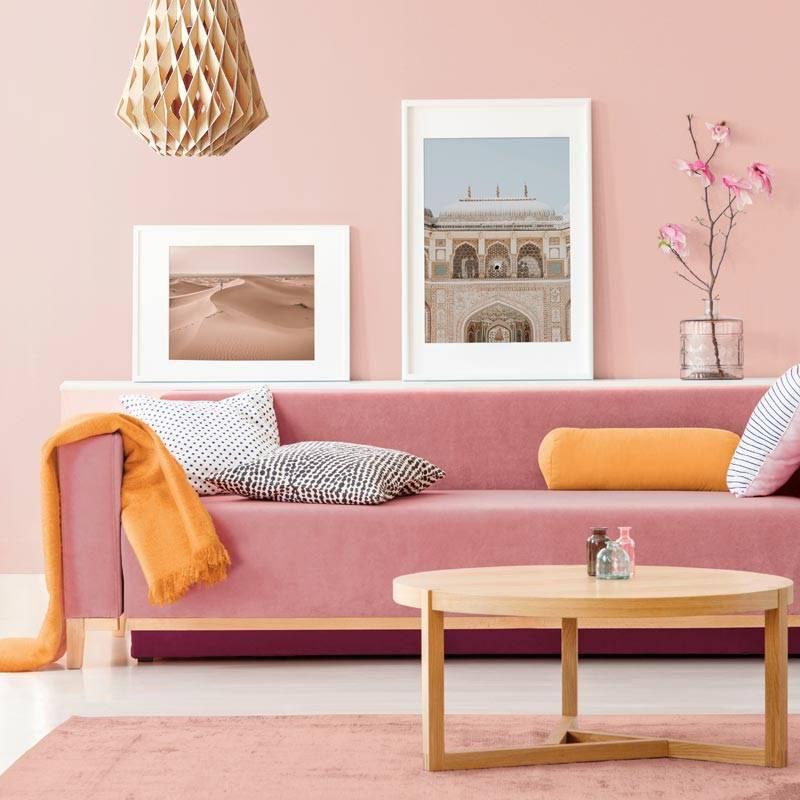 colores-paredes-a. Tonos blush o maquillaje: sofisticados y modernos