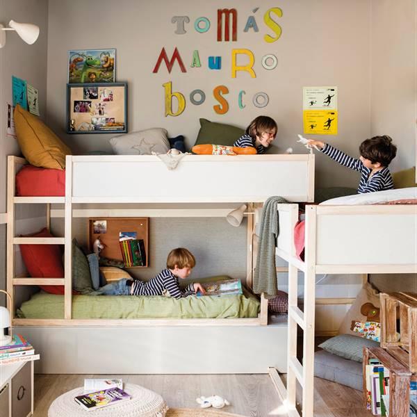Habitaciones infantiles y juveniles: Ideas de decoración - ElMueble