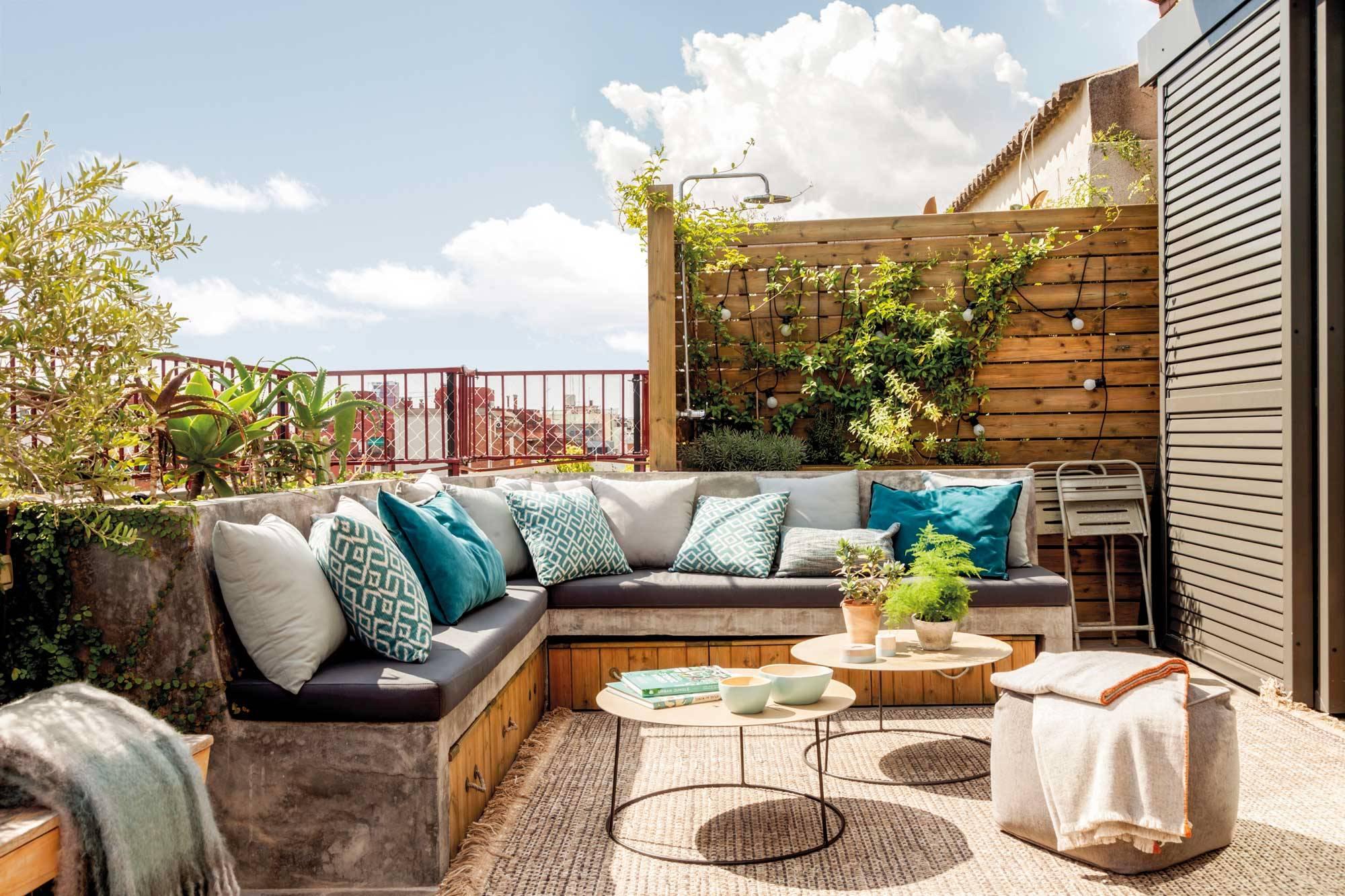 Terrazas el mueble for Color de pintura al aire libre casa moderna