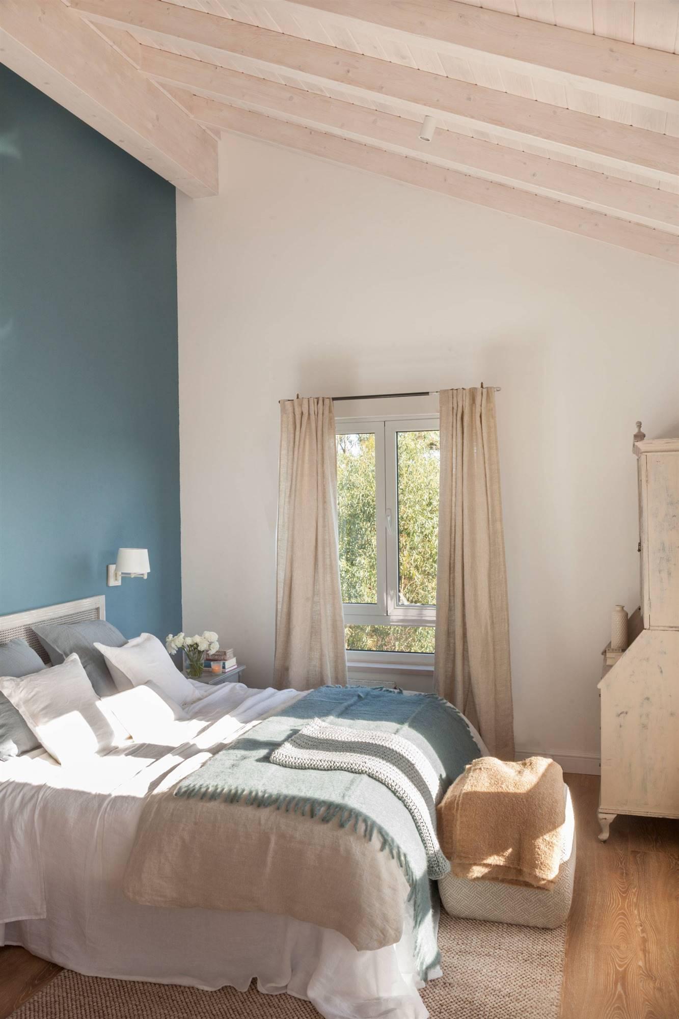20 dormitorios azules para dormir bien
