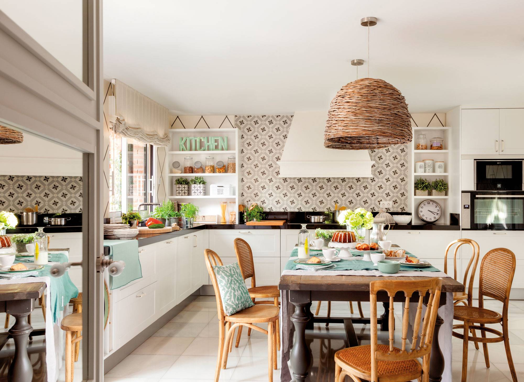 00455057. A kitchen as personal as it is familiar