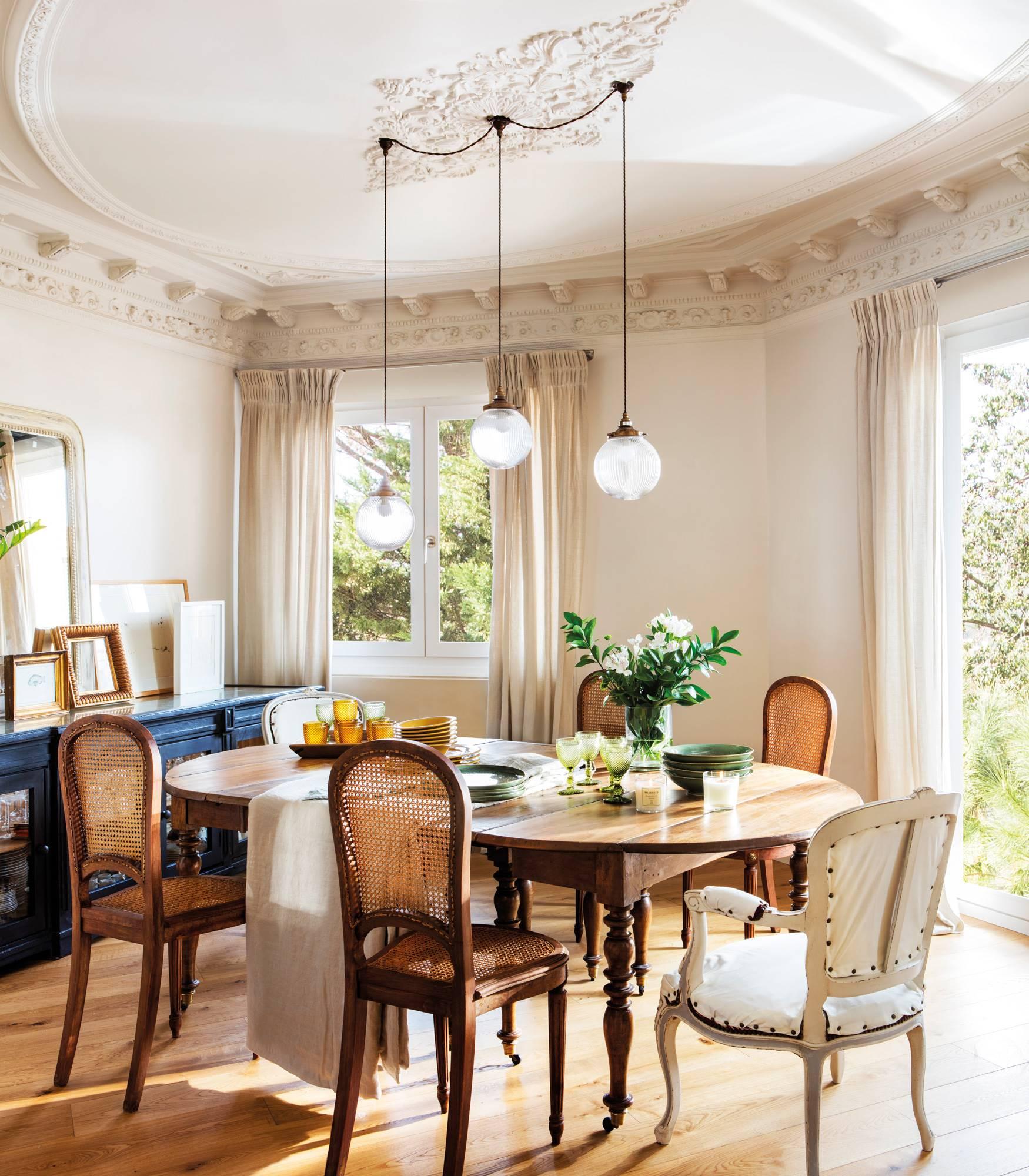 Mesas y sillas para el comedor: 30 combinaciones que funcionan