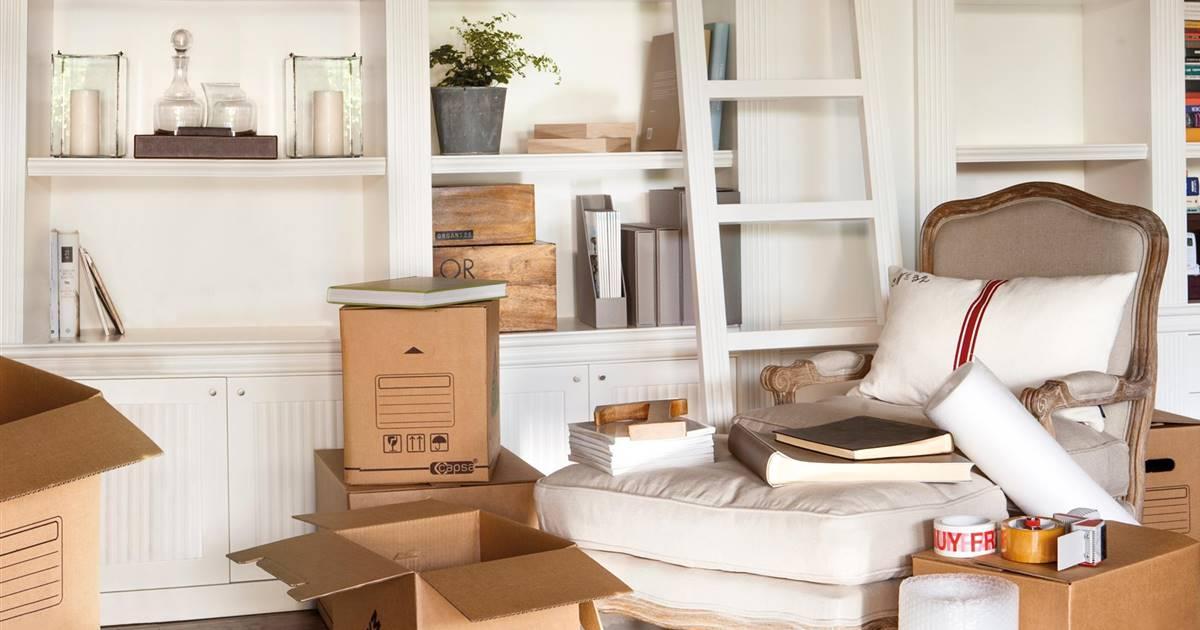 El método KonMari aplicado a una reforma de casa
