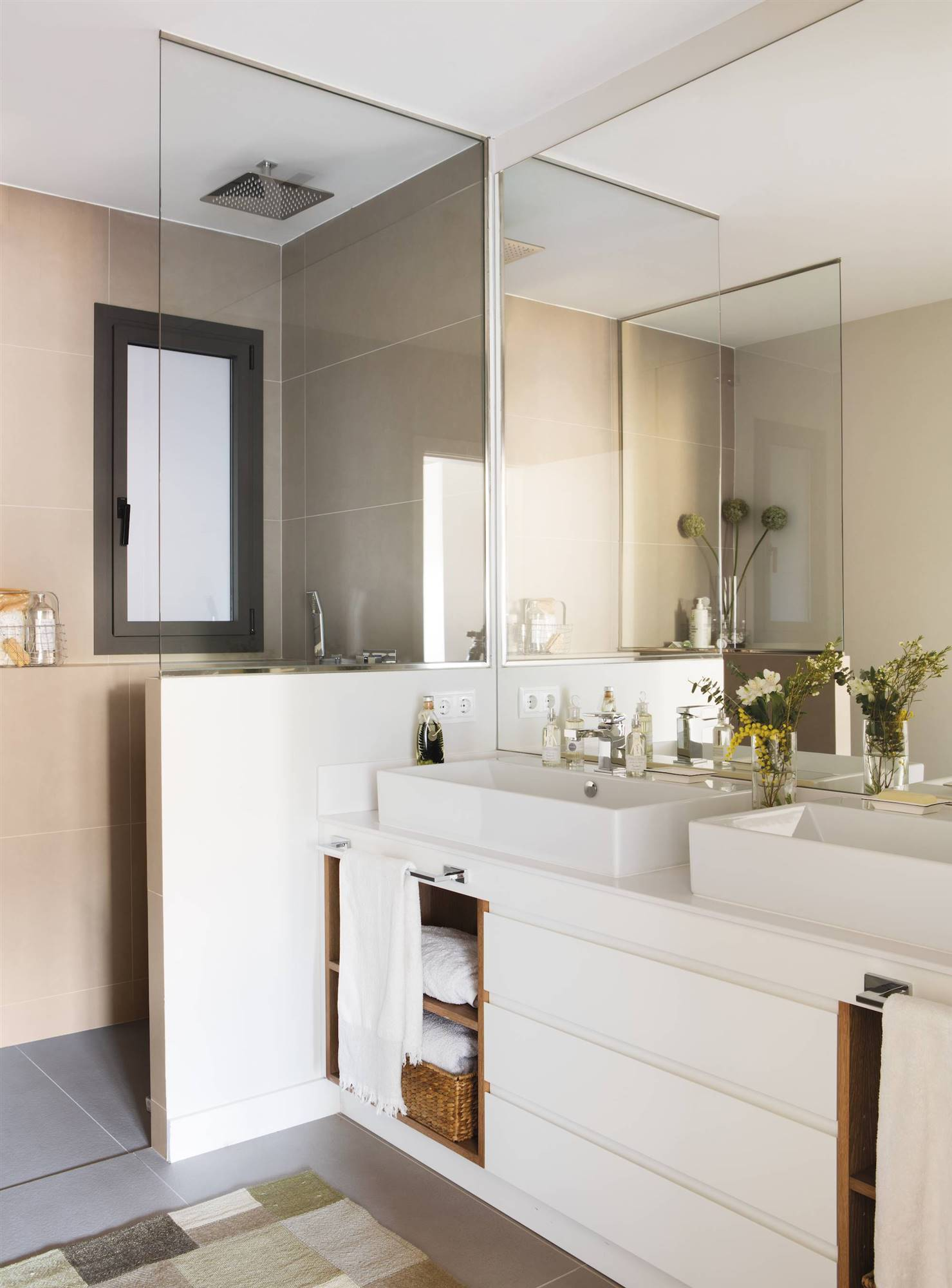 100 ideas para ba os peque os muebles peque as reformas for Muebles para cuarto de bano pequeno