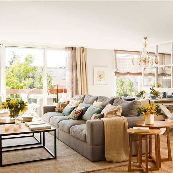 Salones: Muebles de salón para un resultado de revista - El Mueble