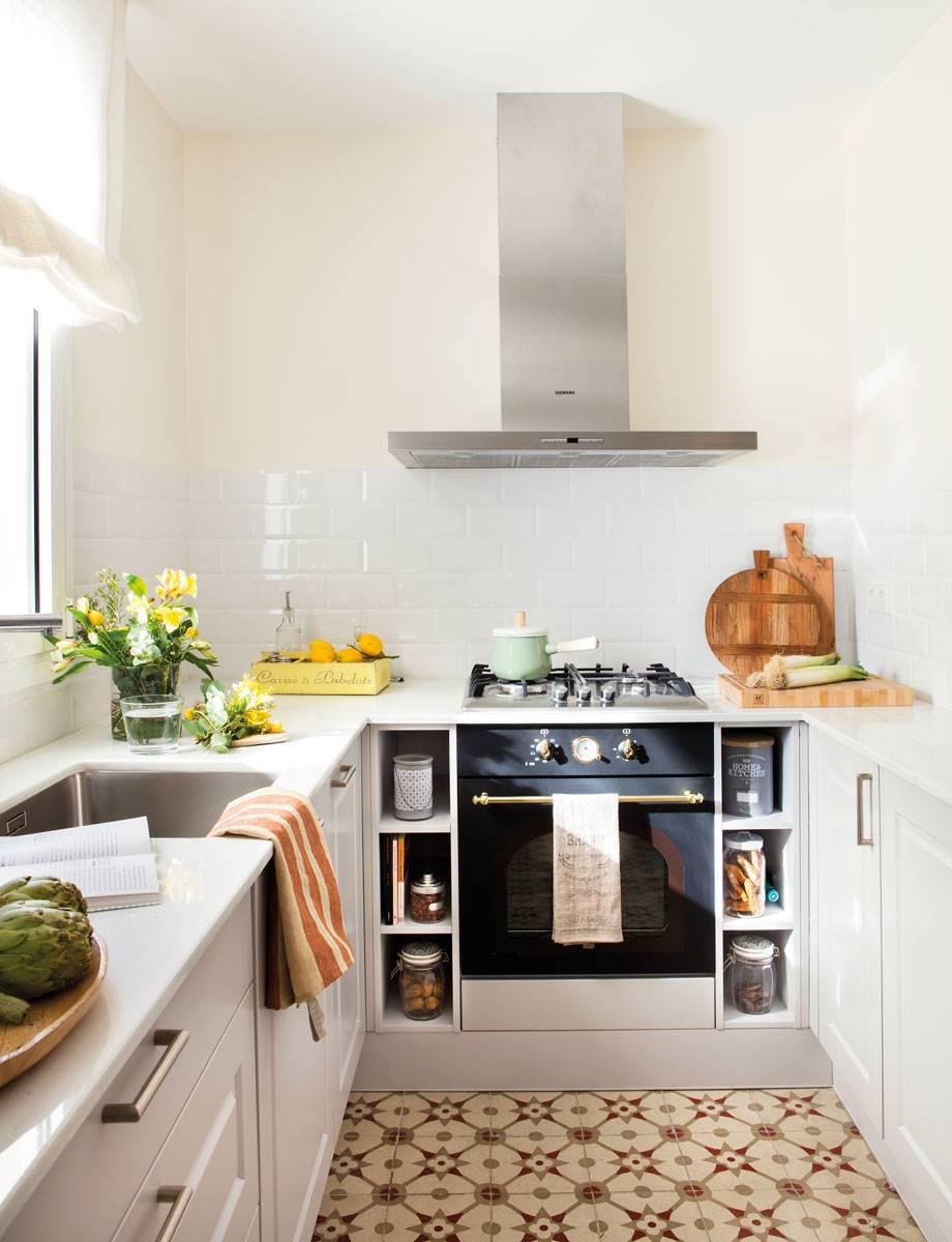 Cocinas muy pequeñas y muy El Mueble