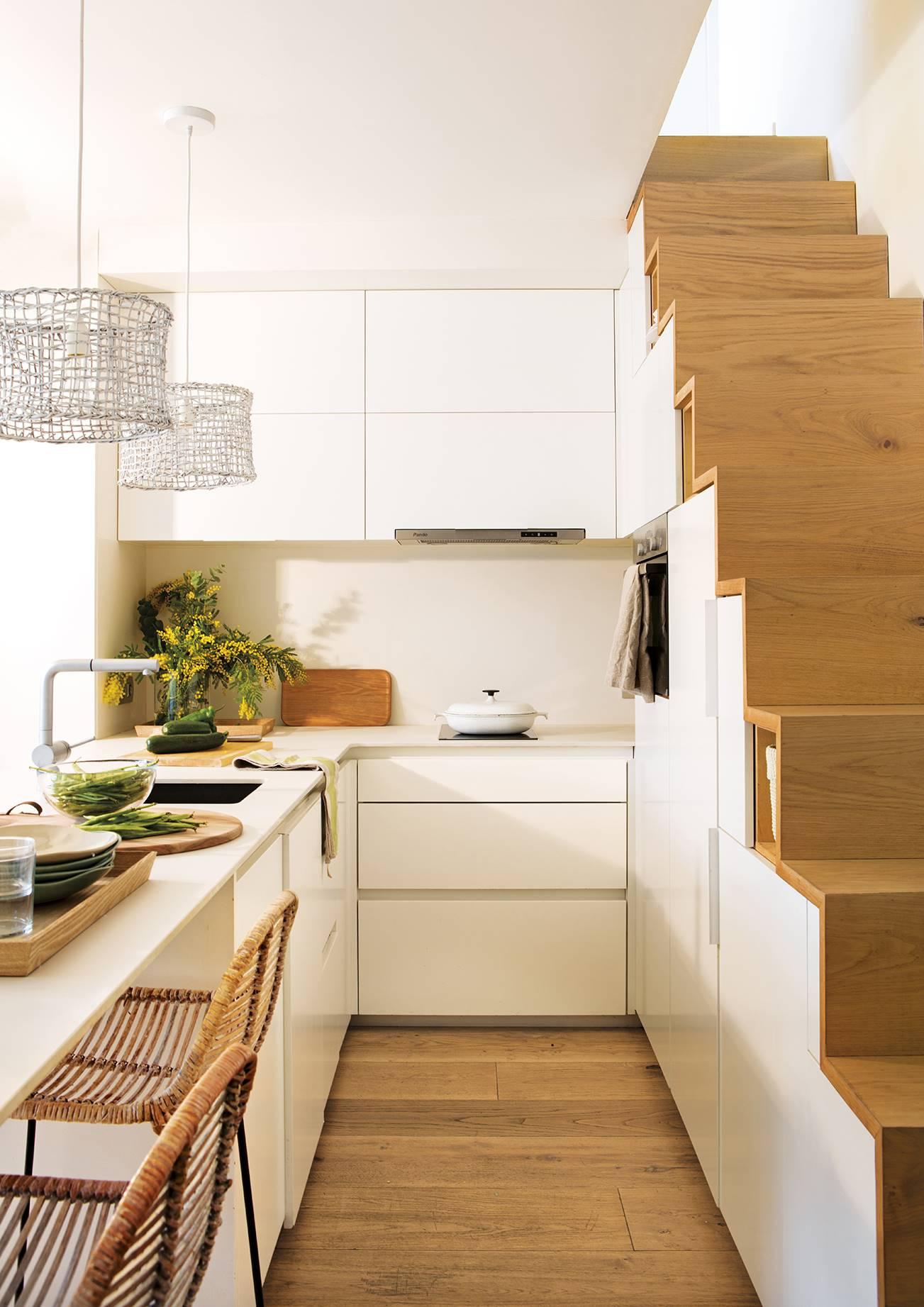 duplex 40 m2 cocina. Convivencia pacífica