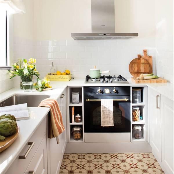 Cocinas: decoración de cocinas modernas, grandes o pequeñas - El Mueble