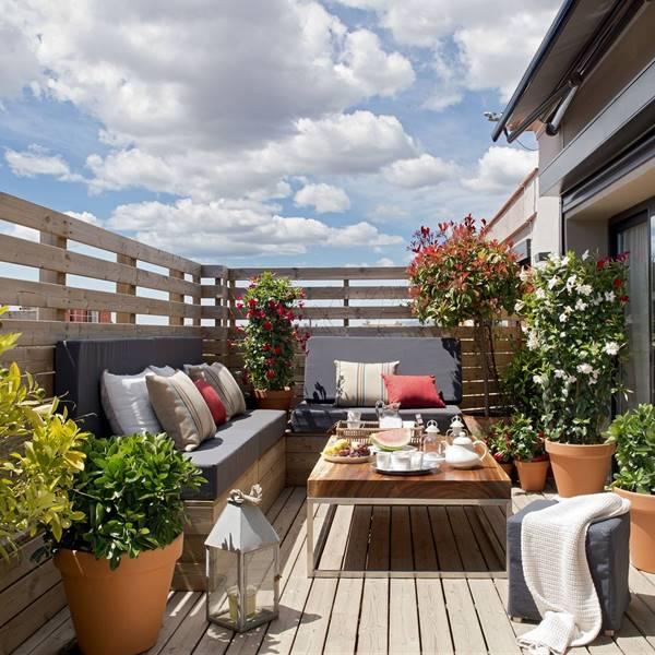 ideas terraza atico Terrazas El Mueble