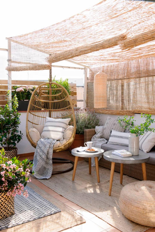 sillas terraza colgar