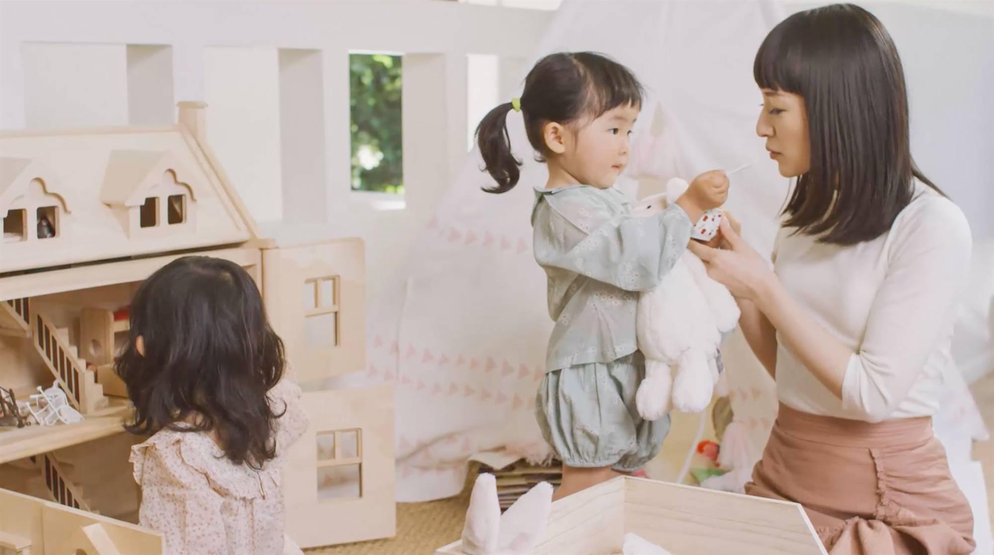 Los mejores consejos de Marie Kondo para ordenar con niños