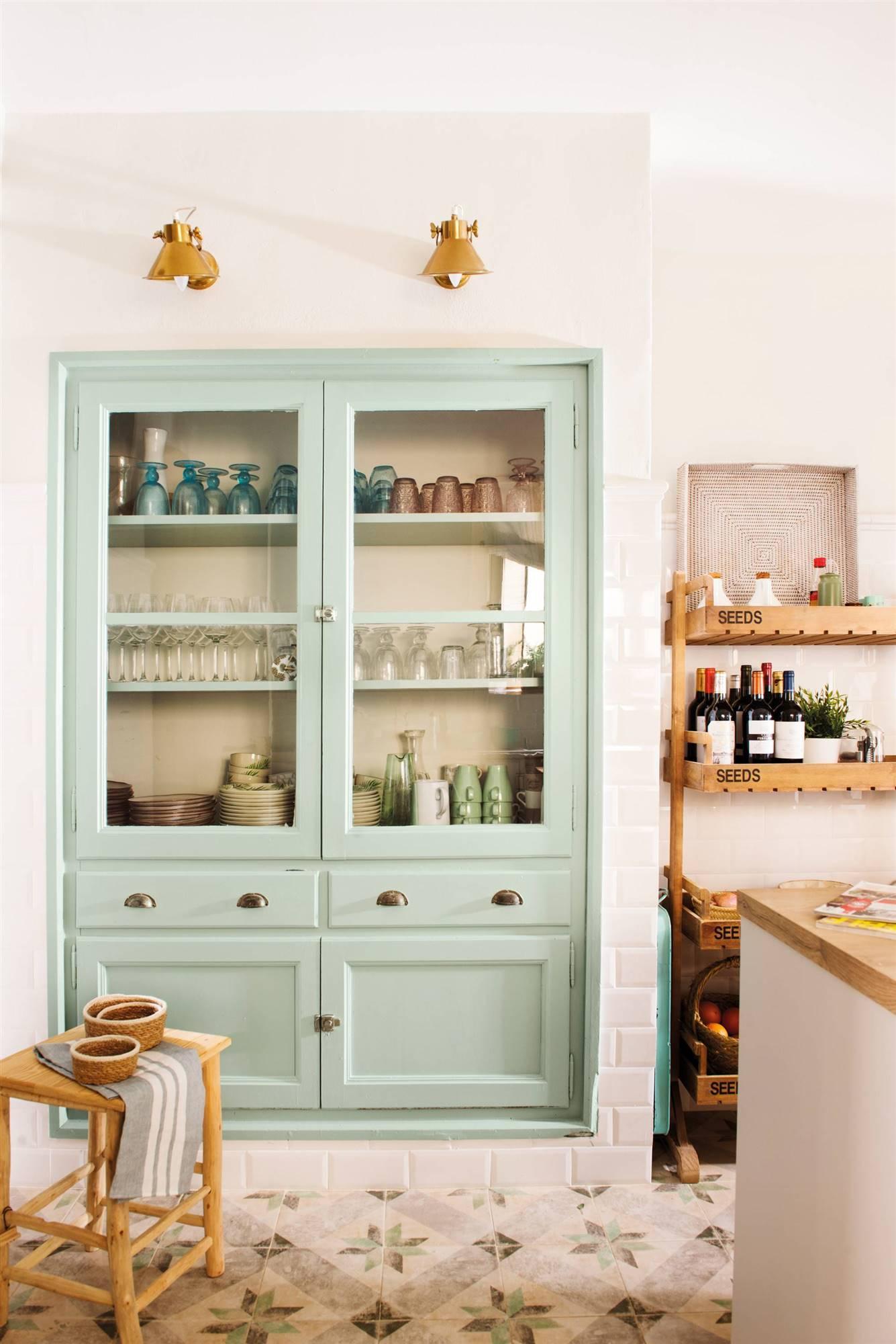 50 vitrinas para guardar y decorar el salón, la cocina, el ...