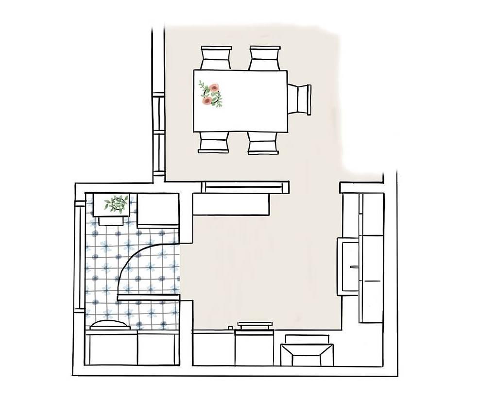 Una cocina peque a de 8m2 con muy buenas ideas de orden y - Remates de cocinas ...