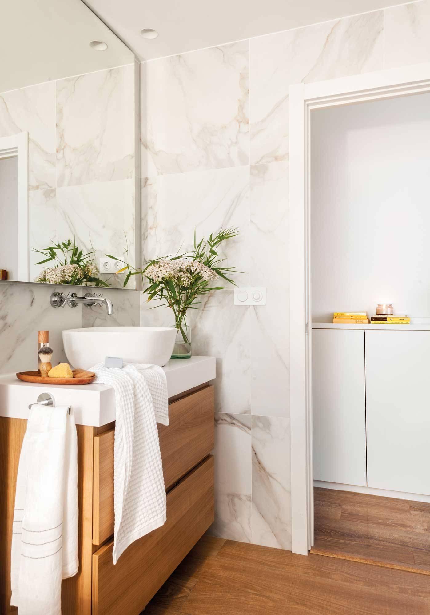 Muebles baño: Decoración, accesorios, mamparas y azulejos - ElMueble