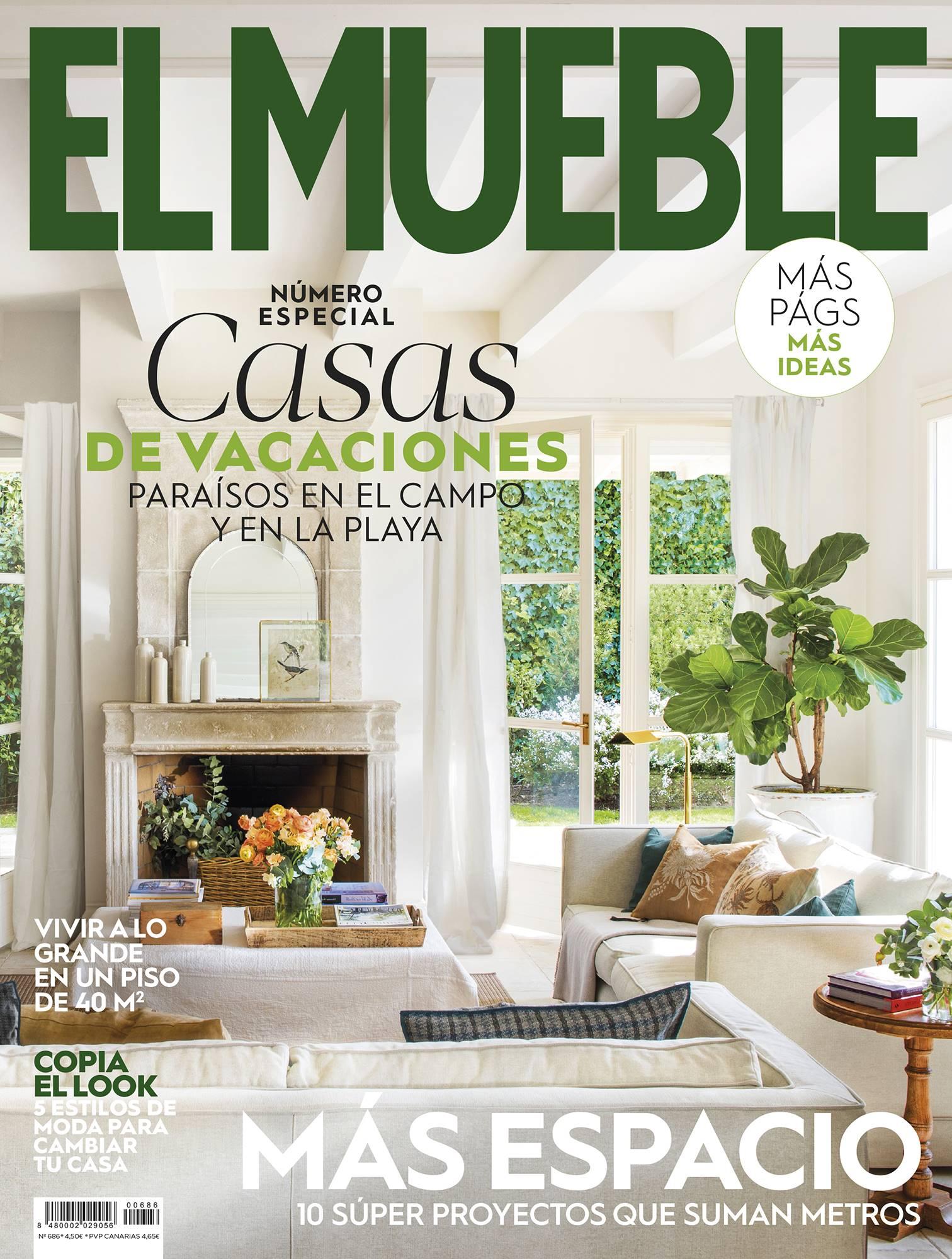 El verano es para las revistas: ¡corre a por El Mueble de agosto!