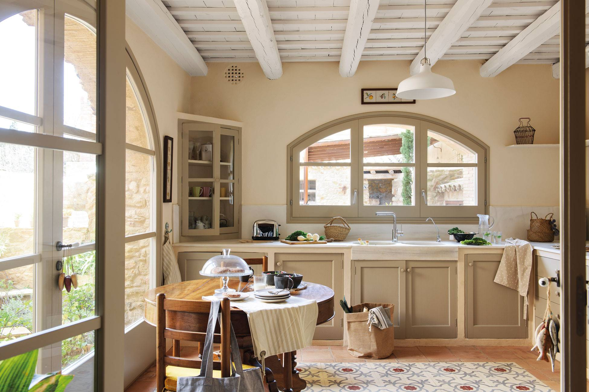 kitchen-rustic-style-and-shades-green-and-toasted 483451. Rustic soul