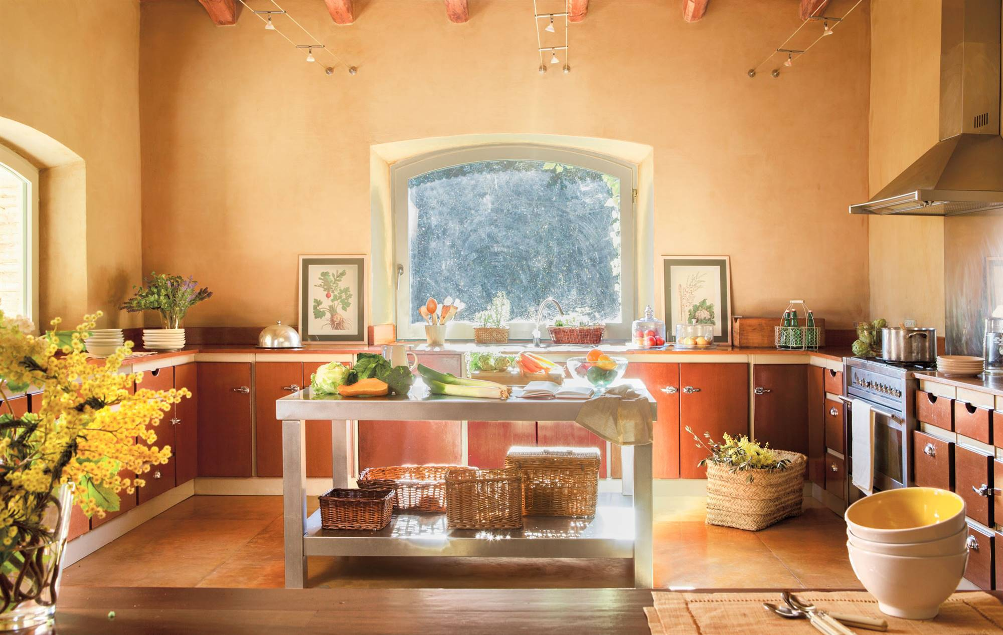 kitchen-rustic-with 382439. The colors of the forest
