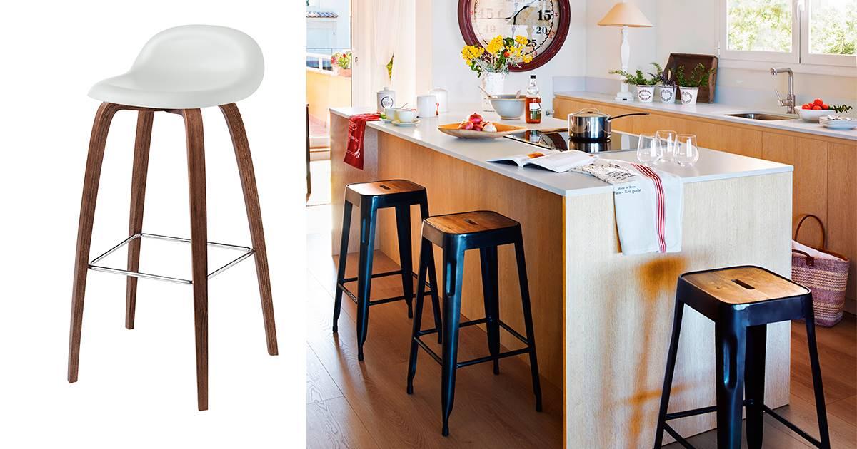 5 Bar and stool.  Bar and stool