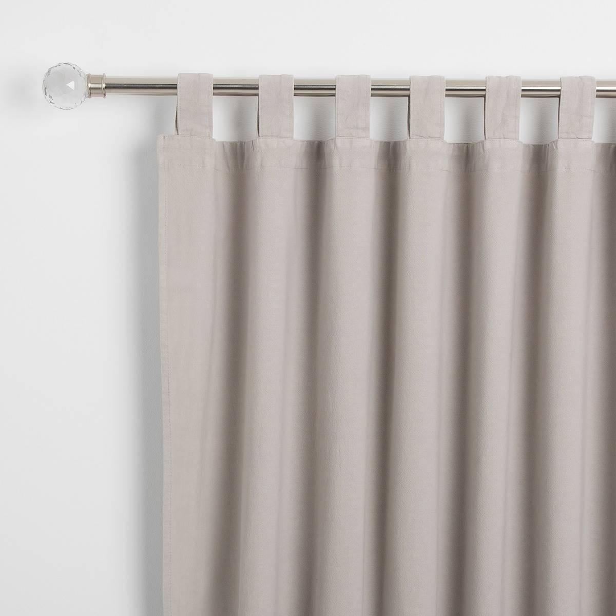 cortinas blancas nordico y mostaza ikea