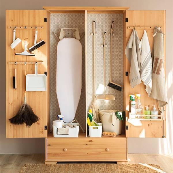 Cómo ordenar los productos de limpieza