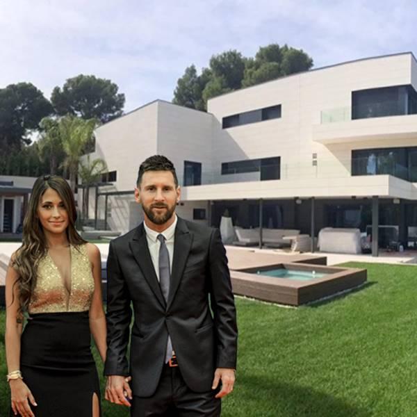 Entramos en la casa de Leo Messi en Castelldefels