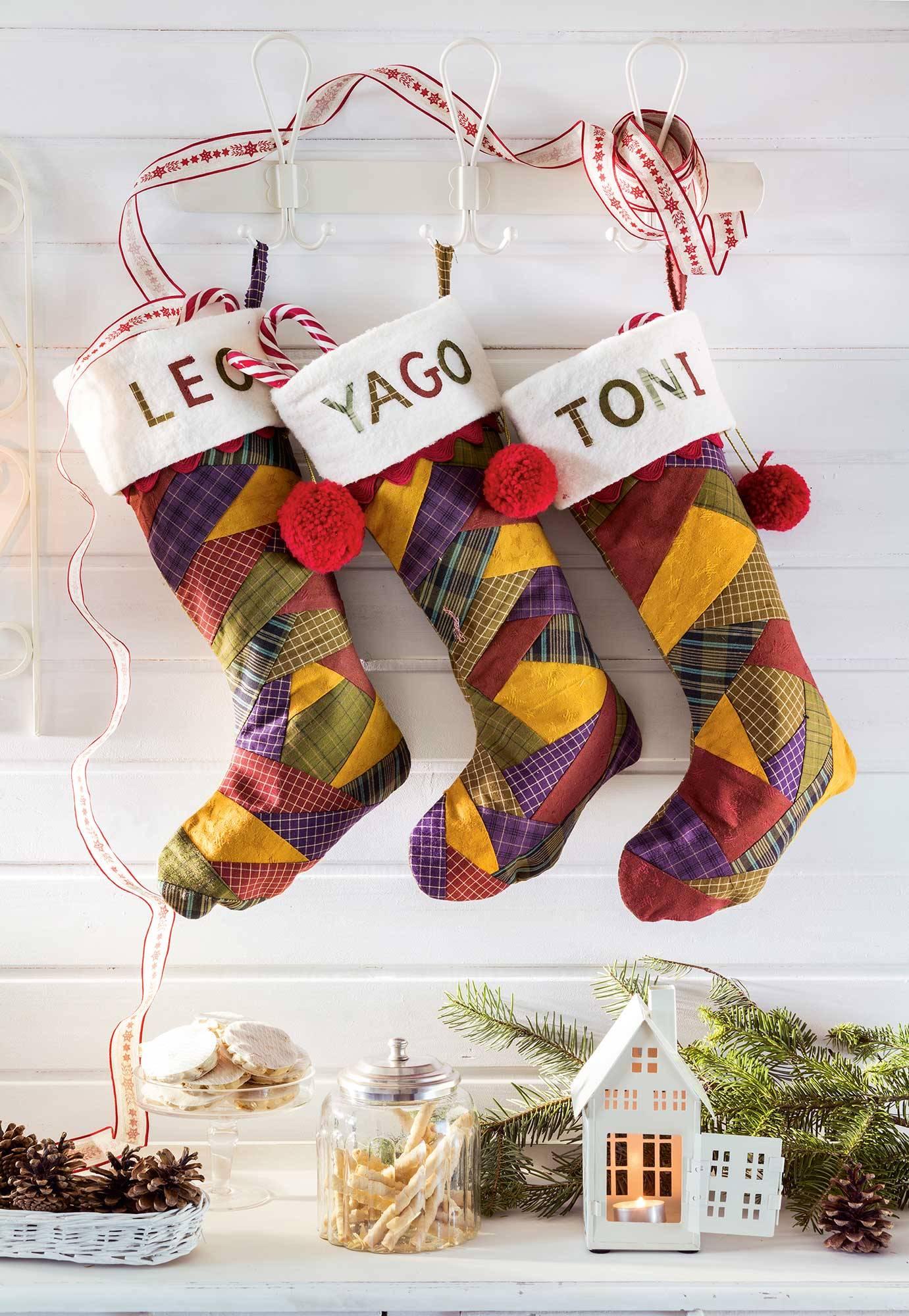 00468770. Calcetines de navidad personalizados