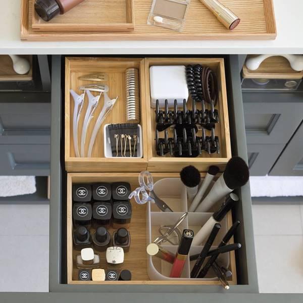 Cómo organizar el maquillaje