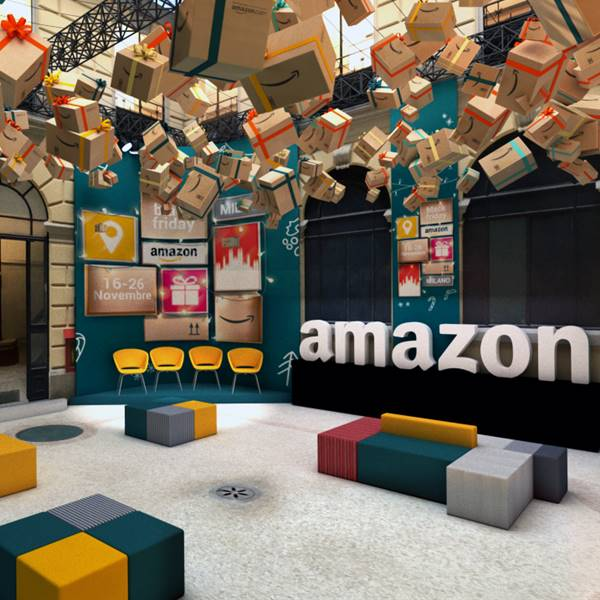 Amazon celebra el Black Friday con una pop-up store en Madrid