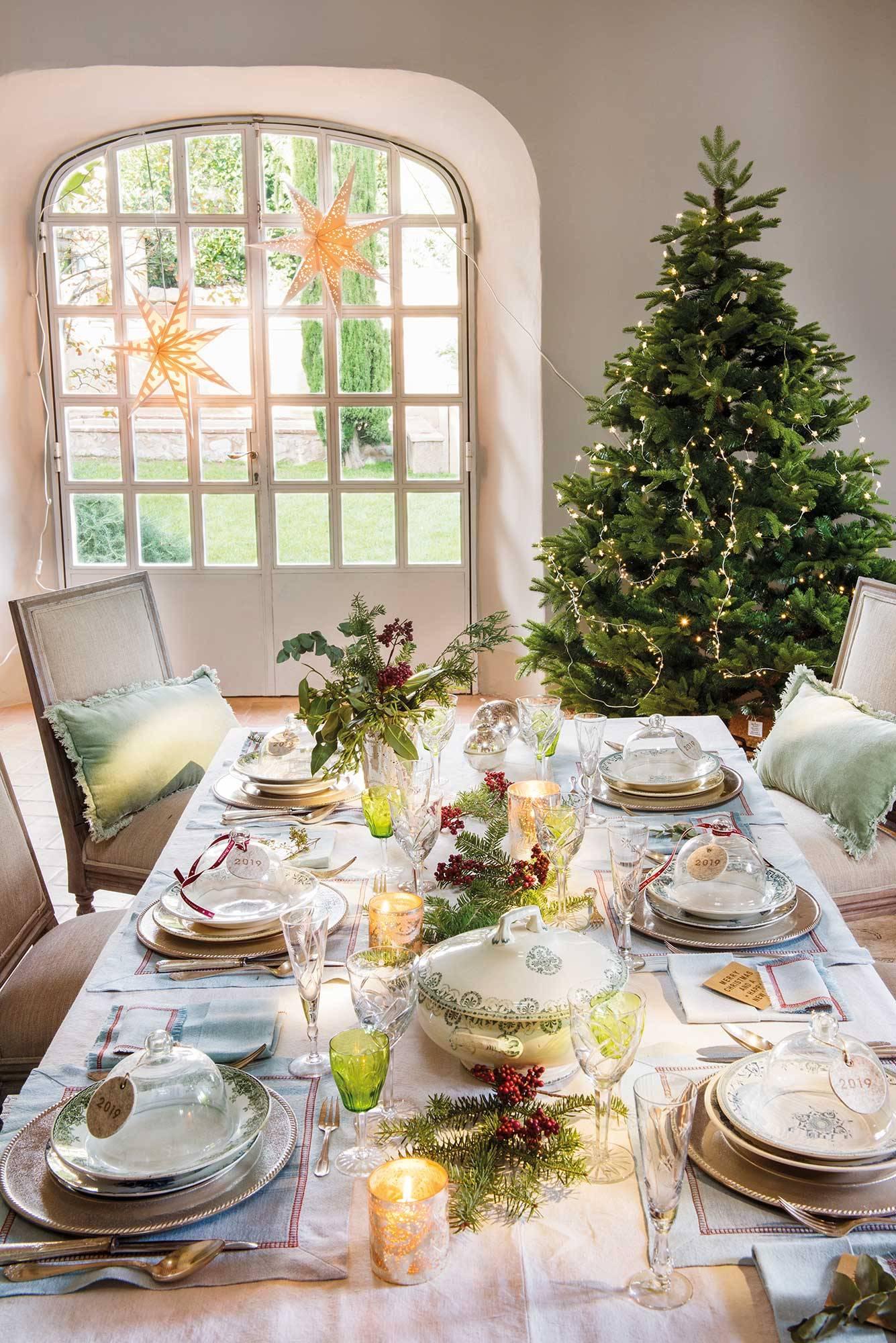 Ideas para decorar tu mesa de Navidad