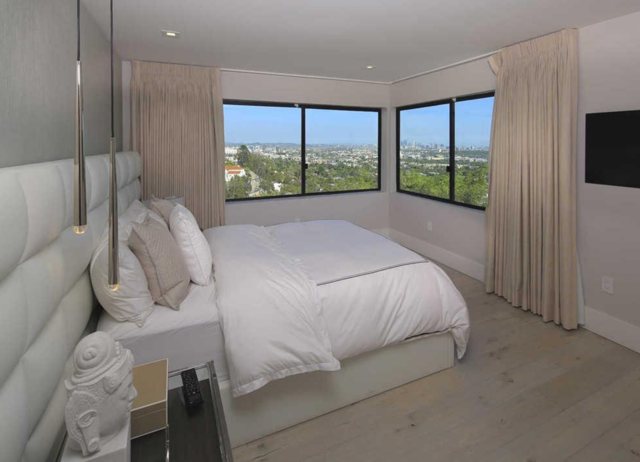 Dormitorio de la casa de Demi Lovato en Los Angeles