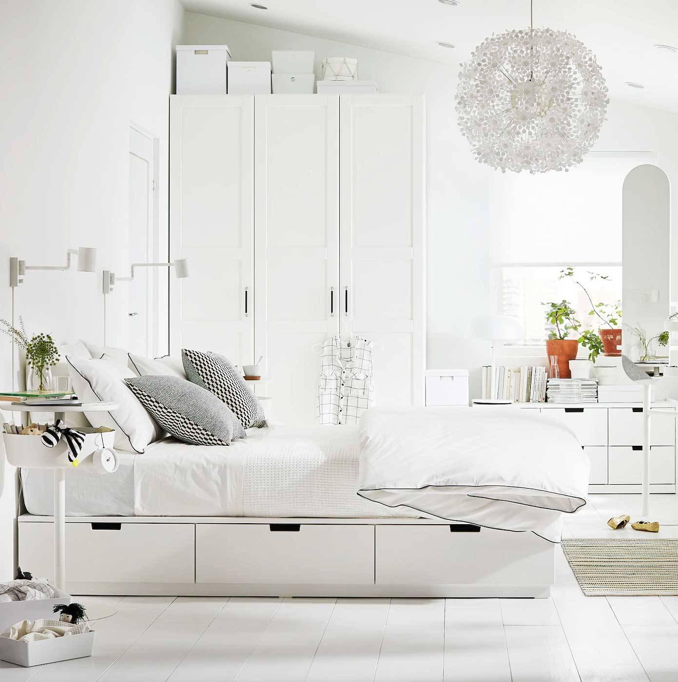 ideas de decoración dormitorios con muebles ikea