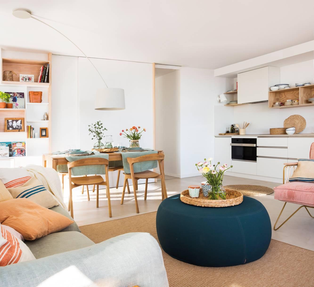 10 ideas de decoración para apartamentos pequeños