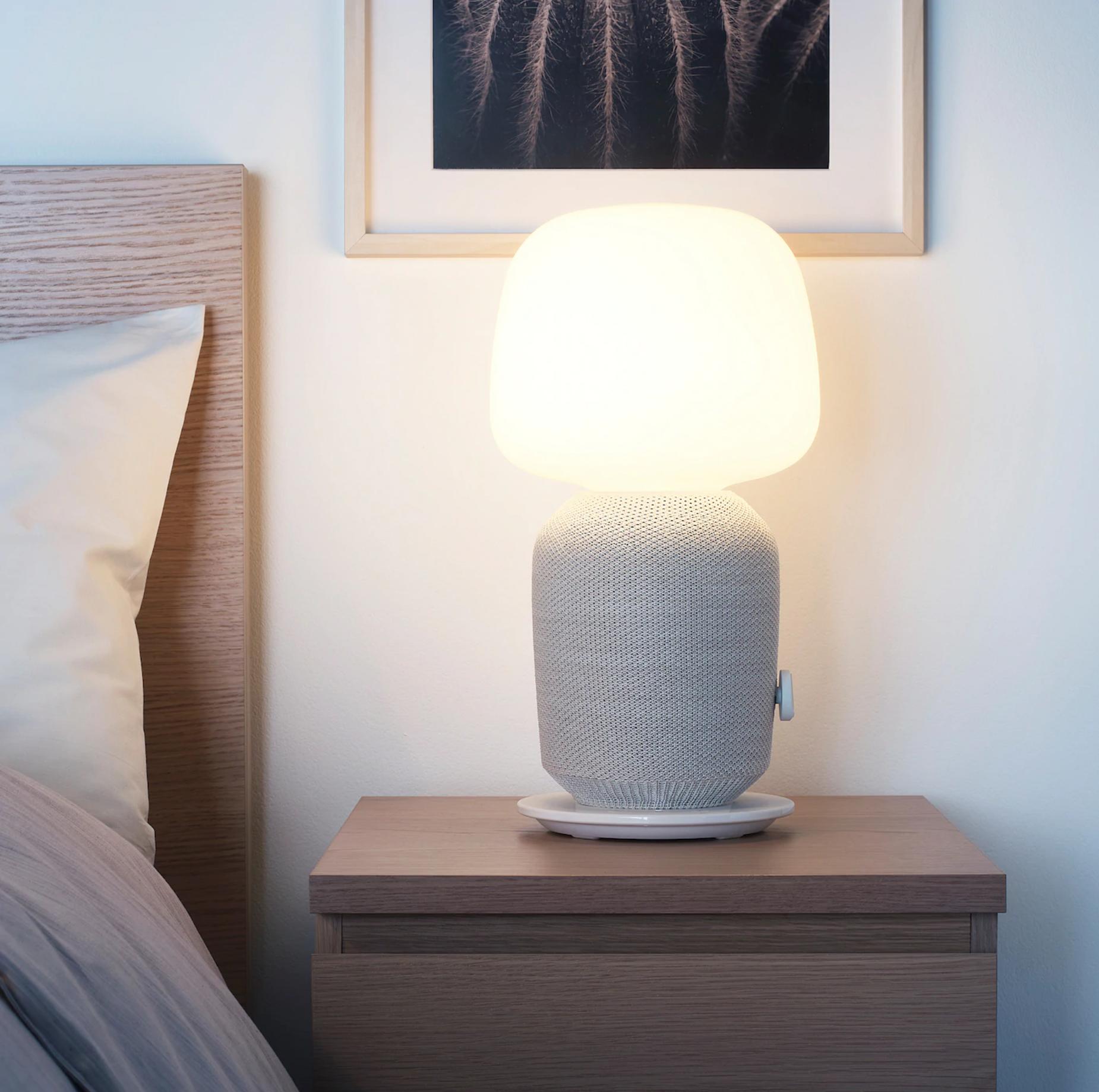 SYMFONISK lámpara altavoz wifi IKEA. Luz y música con wifi