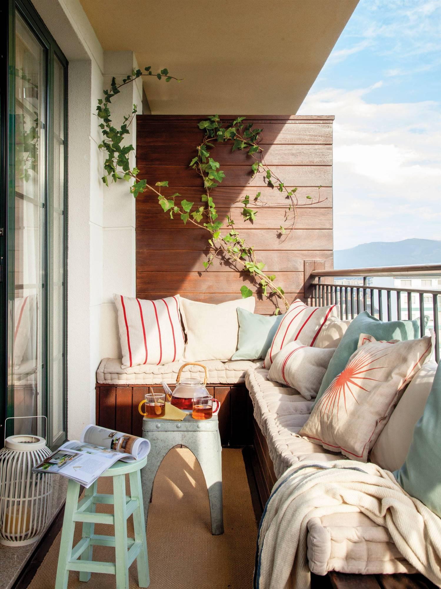 mesas y sillas terrazas estrechas