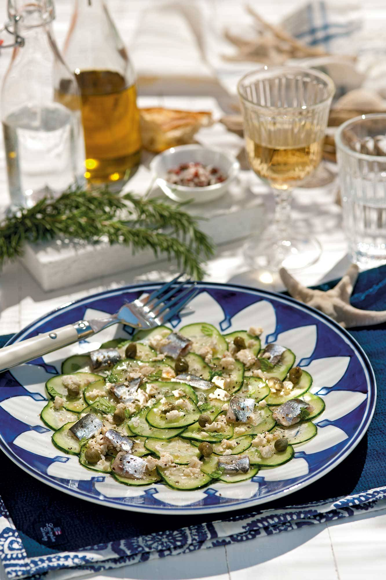 recipes-improve-health-carpaccio-cucumber 00386319