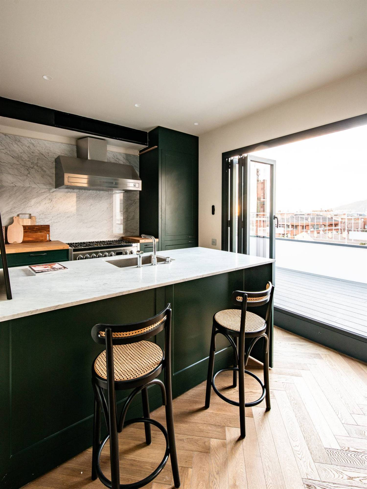 The Home Hunter. Una cocina en verde