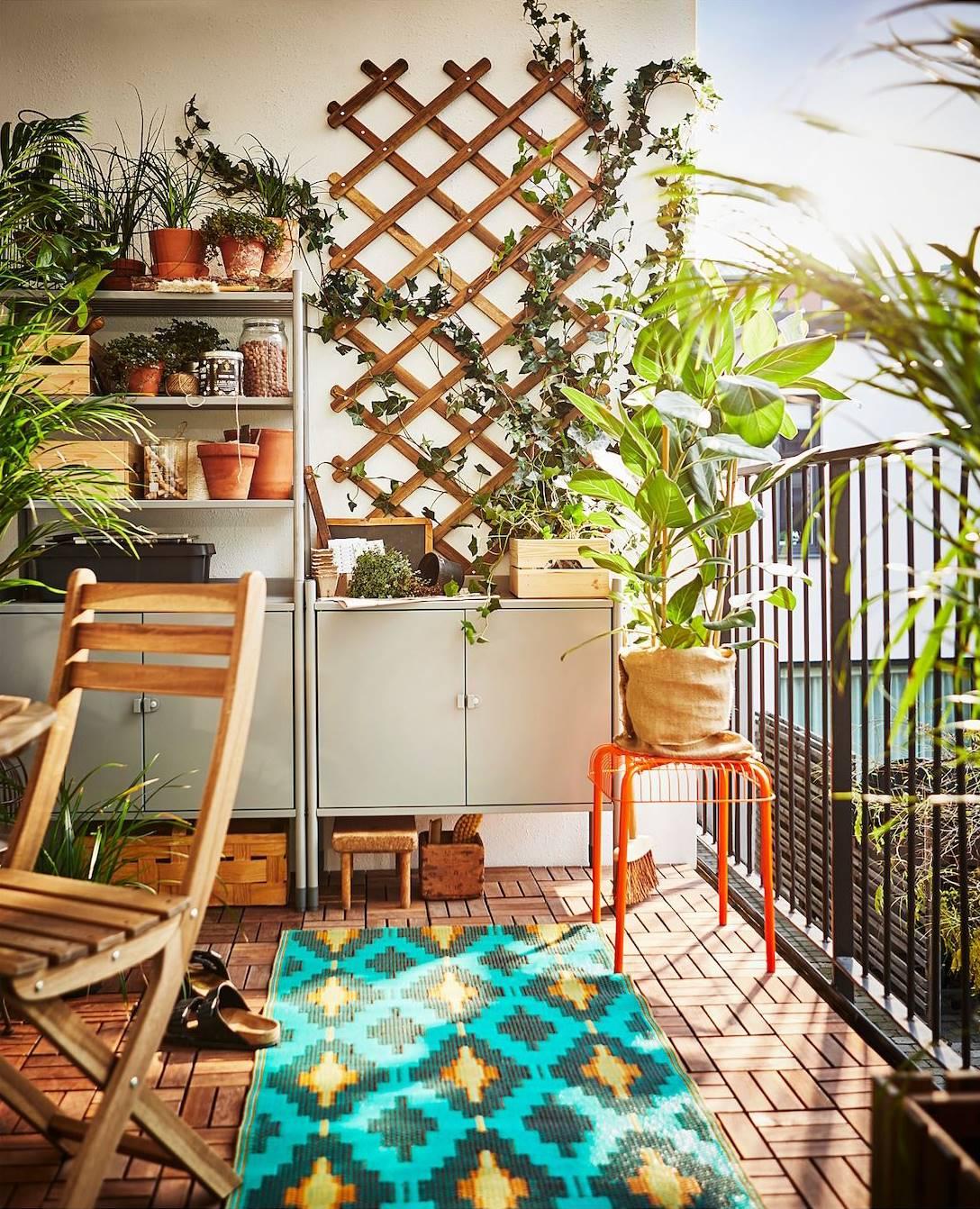 como instalar suelo terraza ikea