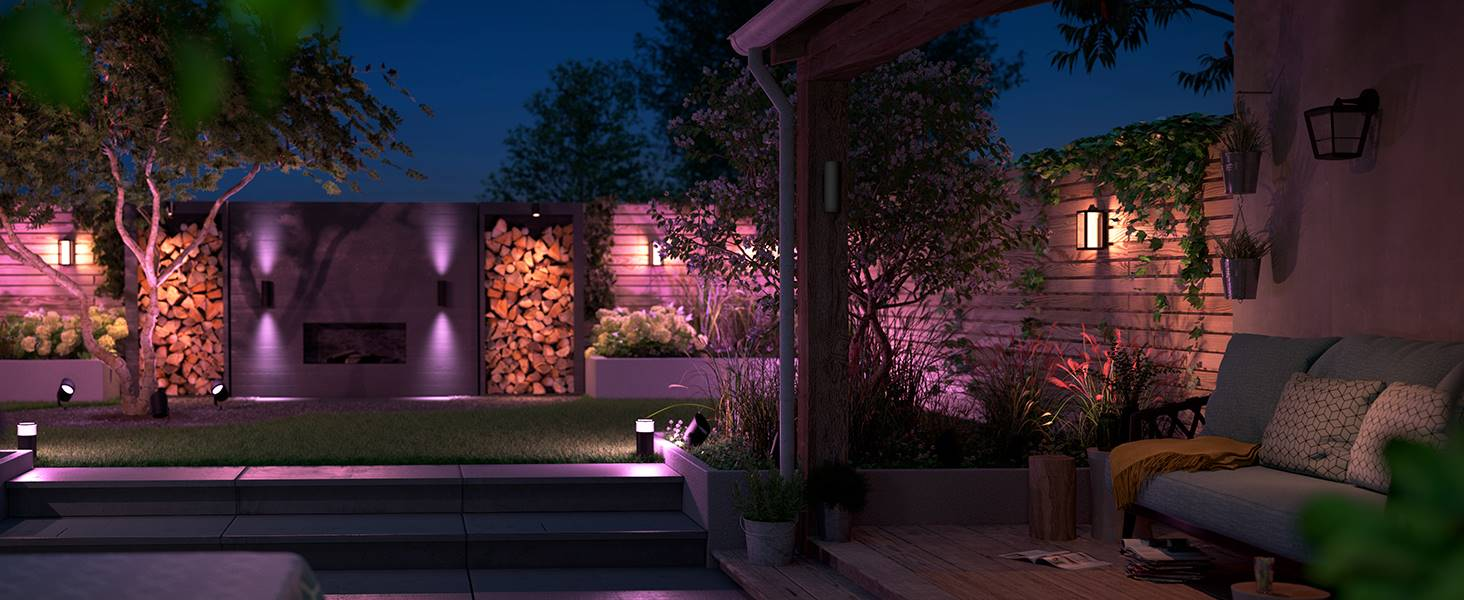 Philips Hue-Signify-Outdoor landscape