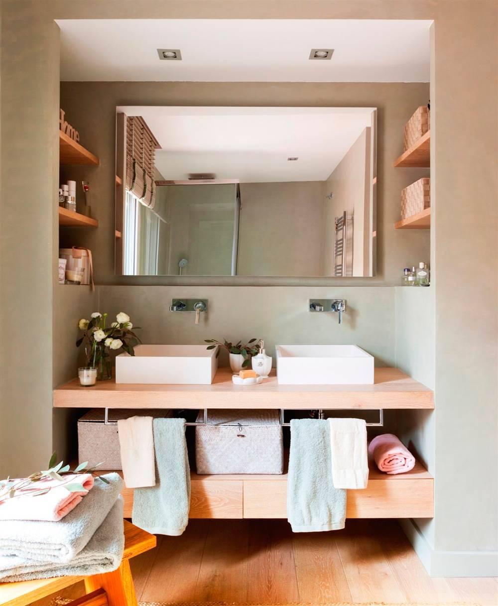 decoracion.baño.balda ikea rncima del baño